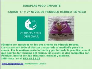 CARTEL CURSOS PÉNDULO HEBREO GENERICO