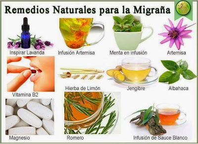 Para migrana con natural remedio aura la