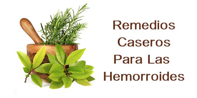 Remedios naturales para almorranas o hemorroides